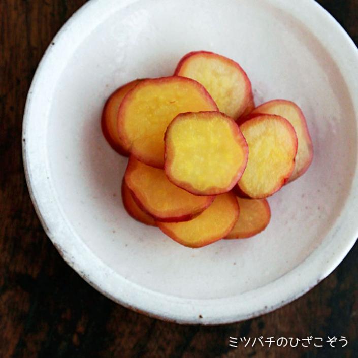 サツマイモのはちみつレモン煮